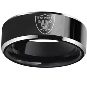 Other - Black Oakland Raiders Ring